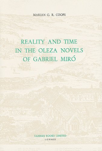 Reality and Time in the Oleza Novels of Gabriel Miró (102) (Coleccion Tamesis: Serie A, Monografias) por Marian G.R. Coope
