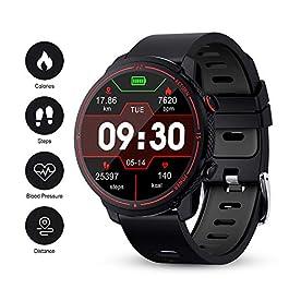 GOKOO Smart Watch for Men Heart Rate Monitor Sleep Monitor Blood Pressure Activity Tracker Waterproof Smartwatch Full…