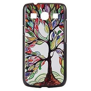 WQQ árbol colorido patrón pc caso duro para el núcleo de la galaxia de Samsung más G350