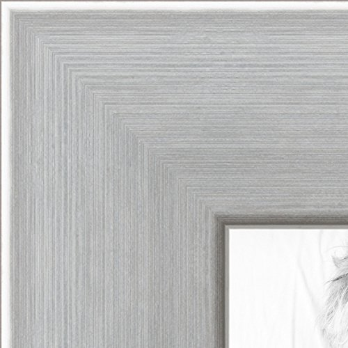 ch Stainless Steel Picture Frame, WOMFRBW74966-24x30 (Four Steel Frame)