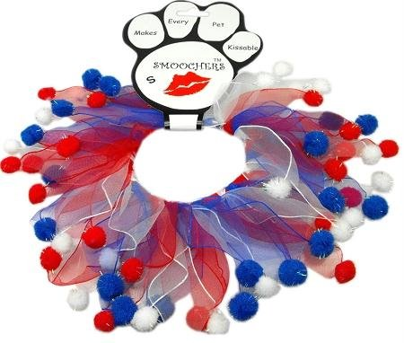Mirage Pet Products Fuzzy Smoochers, X-Large, Red White & Blue from Mirage Pet Products