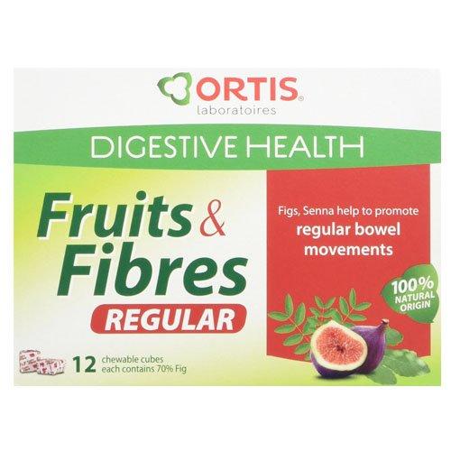 Ortis Fruit & Fibre Cubes 12 fruit cubes