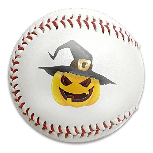 Pumpkin Face Halloween Official League Recreational Play Baseball Standard Baseball 9''Customized Training Baseball