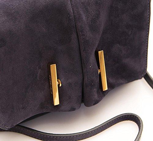 Coccinelle Borsa Donna Mini Bag Pelle camoscio Aubergine