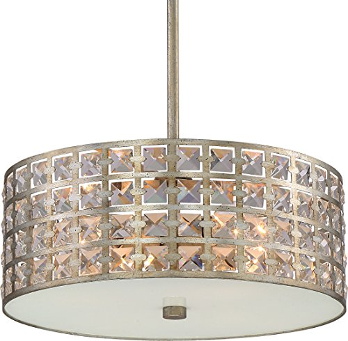 Luxury Crystal Pendant or Chandelier, Medium Size: 8