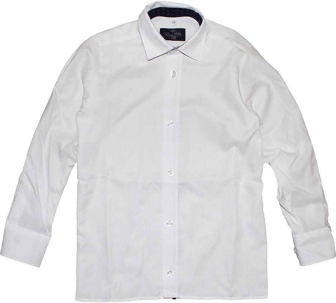Paul Dantus Regular - Camisa Juvenil (Estructura Lisa), Color Blanco Blanco 134 cm: Amazon.es: Ropa y accesorios
