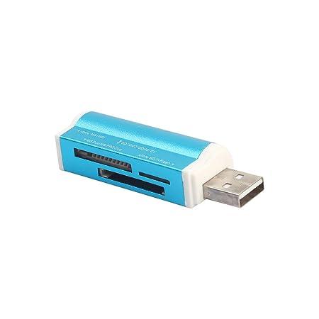Uzinb Forma más Ligero USB 2.0 Todo en 1 Tarjeta de Memoria ...