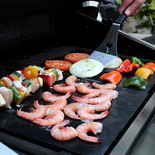 Accesorios de parrillado para barbacoa (UK 521-BBQ Mats): Amazon.es: Hogar