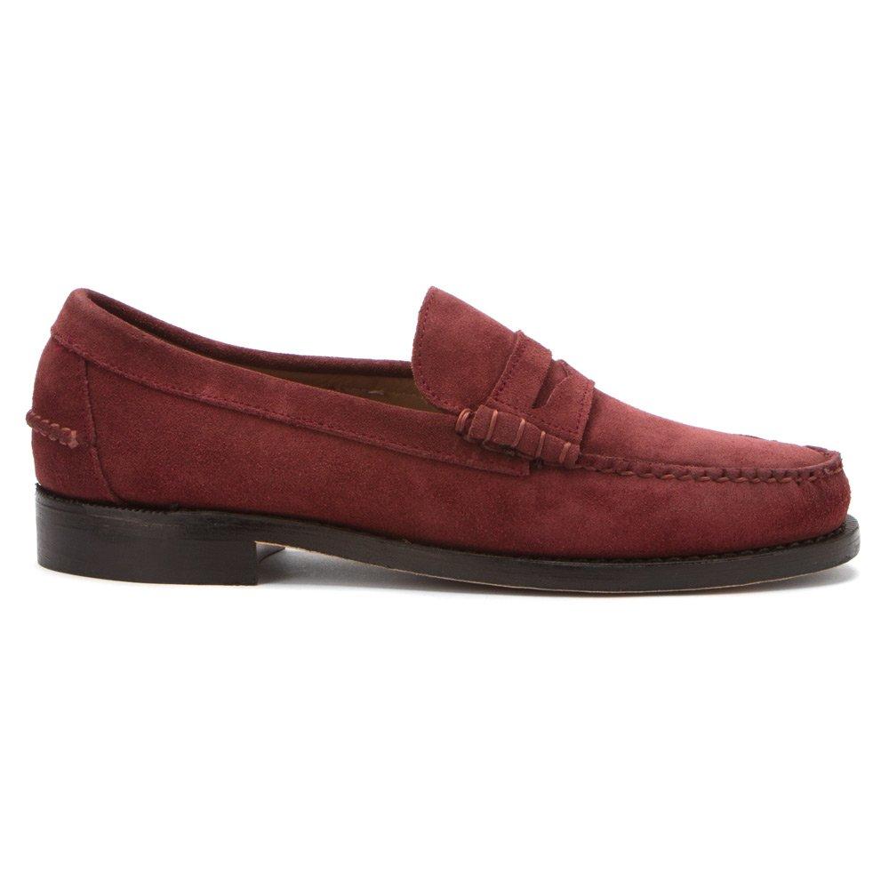 Sebago - Mocasines para hombre, color rojo, talla 41.5: Amazon.es: Zapatos y complementos