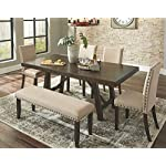 Signature Design by Ashley Rokane Dining Room Extension Table, Brown