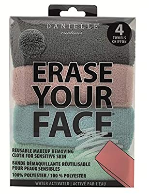 Erase Your Face - Reusable Makeup Removing Cloths ~ Facial Care Set