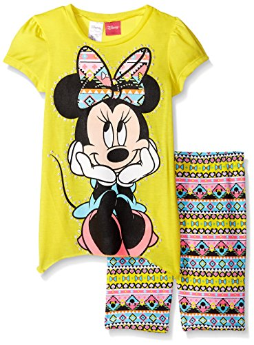 Disney Little Girls' Minnie Bike Short Set