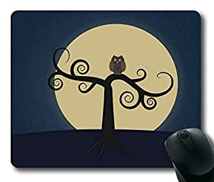 Night Owl Design Rectangle mouse pad Your Perfect Choice