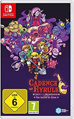 Cadence of Hyrule - Crypt of the NecroDancer Featuring The Legend of Zelda: Nintendo Switch: Amazon.es: Libros en idiomas extranjeros
