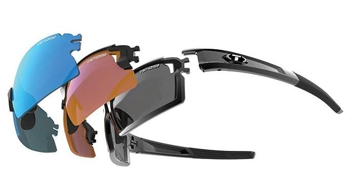 Tifosi 2016 Escalate S.F Pro Sunglasses, Gloss Black