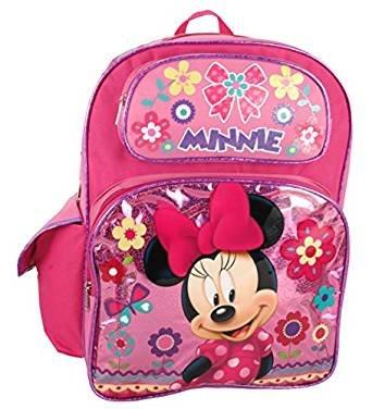 """Mochila – Disney – Minnie Mouse – Rosa Flores 16 """" ..."""