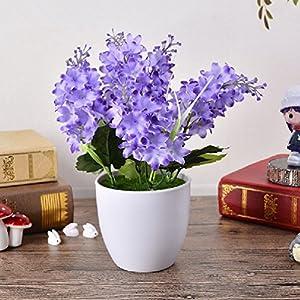 Artificial Hyacinth Silk Flowers Indoor Decor Plants Balcony Office Desktop 59