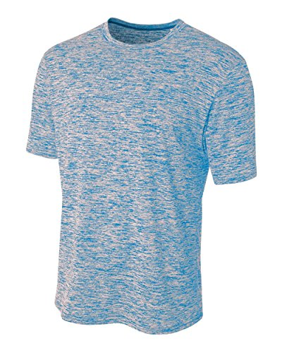 A4 Men's Space Dye Tech Shirt, Light Blue, XX-Large, used for sale  Delivered anywhere in Canada