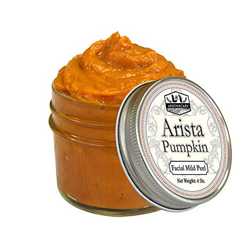 4 fl. Oz Arista Pumpkin Enzyme Mask - Deep Exfoliation, Leaves Skin Brightened, Replenished and Renewed, Excellent Brightening & Glycolic Acid Peel - Enzyme Peel Mask
