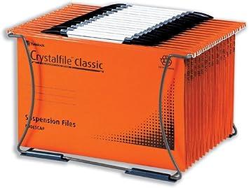Rexel Crystalfile - Archivador para carpetas colgantes (capacidad para 40 carpetas A4): Amazon.es: Oficina y papelería