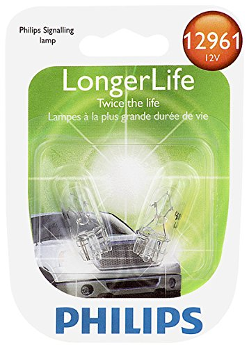 Price comparison product image Philips 12961 LongerLife Miniature Bulb, 2 Pack