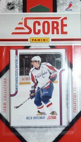 2011 / 2012 Score Washington Capitals Hockey Factory Sealed 16 Card Team Set Including Alexander Ovechkin, Alexander Semin, Nicklas Backstrom, Marcus Johansson, Brooks Laich, Jay Beagle, Jason Chimera, Mike Knuble, Matt Hendricks, Mike Green and a Rookie Card of Todd Ford. Alexander Semin Washington Capitals