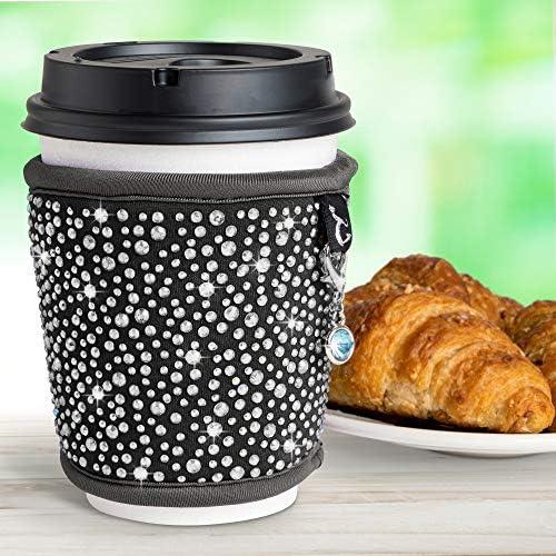 Drink Mug Bottle Bag Anti-Hot Handmade Soft Glass Tea Cup Cover YI