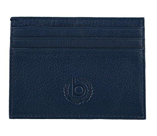 Bugatti Sempre Porta tarjetas de credito piel 10 cm Azul