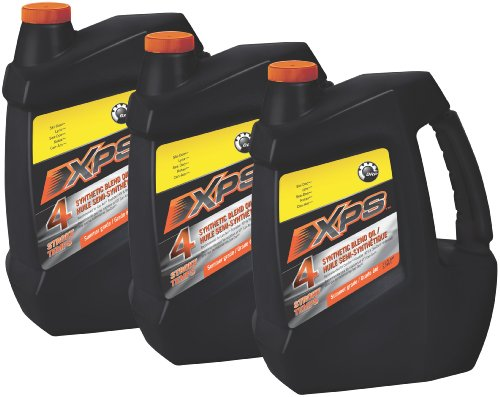 Ski doo xps 4 stroke synthetic blend engine oil gallon for Case of motor oil prices