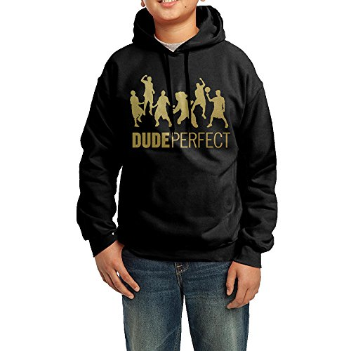 NVVW Dude Perfect Action Figure Youth Pullover Sweatshirts Jacket XL (Jordan Playground Poster)