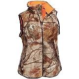Prois Sherpa Reversible Vest (Realtree Max-1, XS)