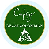 Cafejo K-Cups, Decaf Colombian Coffee, 24 Count