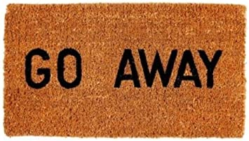 16 by 27 by 1-Inch Kempf Go Away Doormat