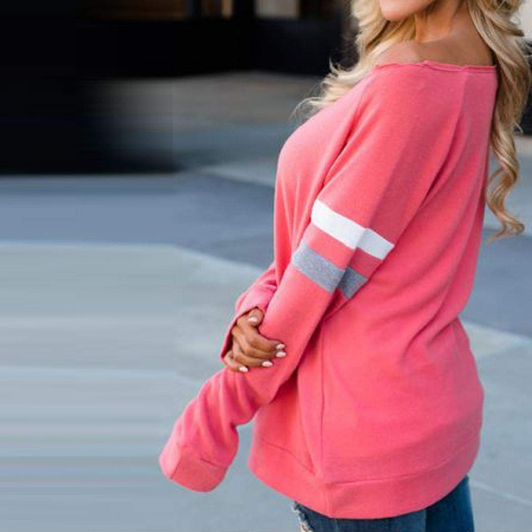 Camisa Mujer 2018 Otoño Moda Blusa para Mujer del Ocasionales Camisa de Manga Larga de algodón con Cuello en o Camiseta Empalme Sexy Tops Ropa ...