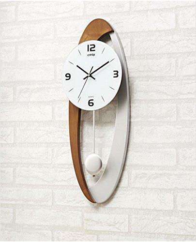 時計と時計リビングルームの時計現代のヨーロッパのクリエイティブウォールクロックアーティストシンプルでスタイリッシュなパーソナリティミュート時計 (色 : B) B07DFS8TY7 B B