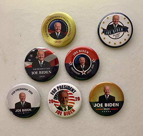 Presidential Election Historical Center Joe Biden 2020 Campaign Buttons Set of 6 + 1 Free - 2.25 -