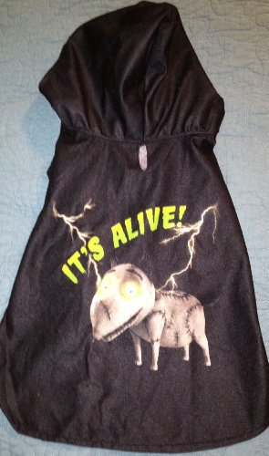 Disney Halloween Dog Hoodie Costume - Frankenweenie from
