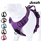 juxzh Truelove Soft Front Dog Harness .Best Reflective No Pull Harness with handle