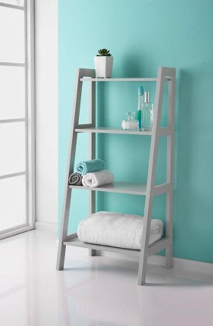 Elegante diseño Maine escalera estante gran casa interior elección para su cuarto de baño.: Amazon.es: Bricolaje y herramientas