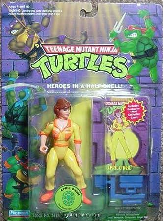 Amazon.com: Teenage Mutant Ninja Turtles – Abril o oneil ...