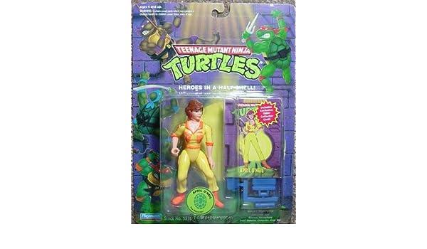 1990 Abril ONeil Tortugas Ninja Mutantes: Amazon.es ...