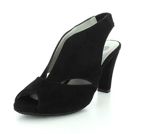 c8bc3c31f22 Eric Michael Women's, Peru High Heel peep Toe Sandals