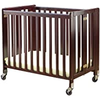 Orbelle Trading Lilly Commercially Rated Portable Crib, Cherry (Discontinued by Manufacturer)