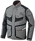 RSタイチ(アールエスタイチ)バイクジャケット グレー/マシーン (サイズ:M) DRYMASTER FRONTIER(フロンティア)オールシーズンジャケット RSJ709
