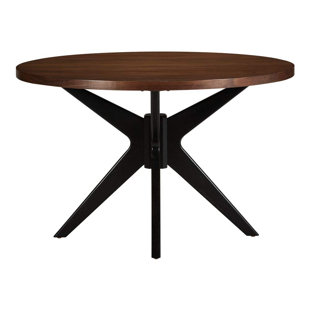 Amazon com ethan allen hazelton midcentury modern round dining table 36 diameter downtown tables