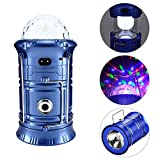 3 in 1 LED Rechargeable Party Disco Light,Camping Lantern and Emergency Handhold Flashlight,suitable for hiking, camping, fishing, hurricanes -  Yae First Trading Co.,Itd