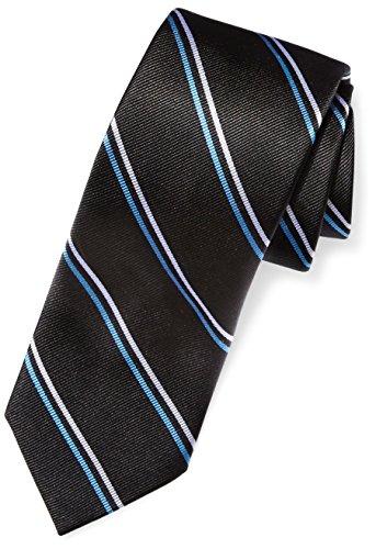 Mens Black Necktie Dots (BUTTONED DOWN Men's Classic Silk 3