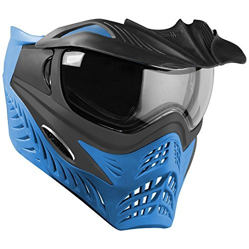 G.I. Sportz VForce Grill Paintball Mask / Thermal Goggles - Special Color - Azure (Grey on Blue) (Grey Thermal Paintball)
