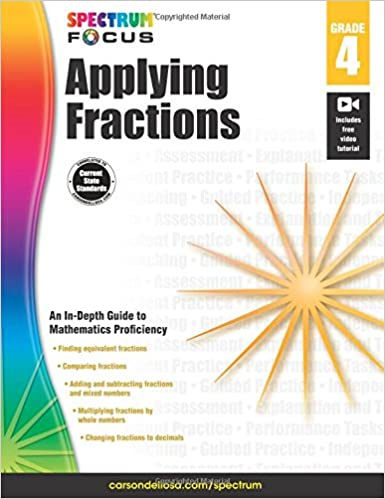 Workbook equivalent fractions worksheets pdf : Spectrum Applying Fractions, Grade 4 (Spectrum Focus): Spectrum ...