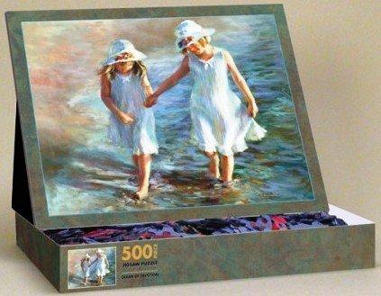 Amazon.com: Ocean of Devotion 500 Piece Easel Syle Jigsaw Puzzle ...